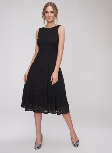 8c8017dcc166a People By Fabrika Dantel Detaylı Elbise Siyah ...
